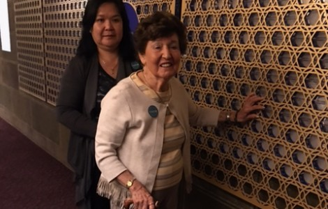 Visitation to Wilshire Boulevard Temple: Written by Watermark Resident, Betty Denitz