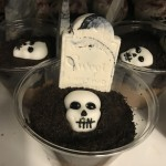 Graveyard Pudding from the Kitchen.