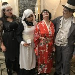 Jessica, Denise, Gladys as Madame Butterfly, and Walter!