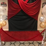 Our Red Carpet Entrance, where