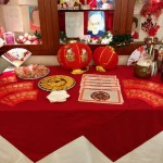 Chinese New Year red envelopes filled with money, drinks and desserts after our Chinese New Year lunch, and Astrological Charts for our event discovering what the upcoming year will bring!