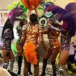 Mardi Gras Dancers in their Jazz Dance Routine!