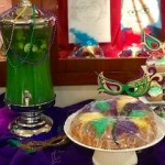 Mint Juleps and King Cake for a taste of New Orleans!