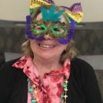 Guess who's ready for Mardi Gras - Joyce!